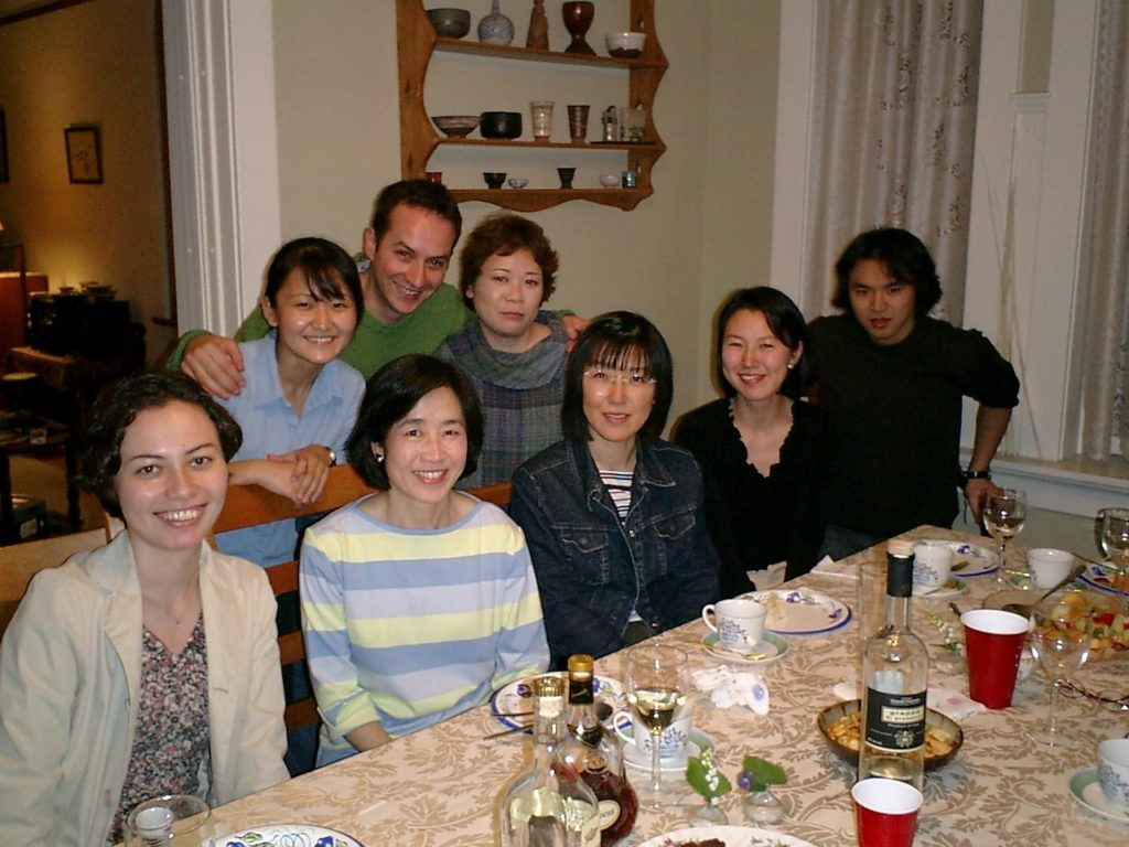 Kanji alive Dinner Party 2004